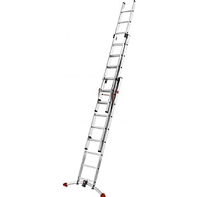 Hailo ProfiLOT Aluminium Combination Ladder £181 - Premises Management