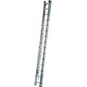 Hailo ProfiStep Duo Aluminium Rope Operated Ladder £234 - Premises Management