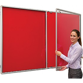 FlameShield Tamperproof Noticeboard £102 - Display/Presentation