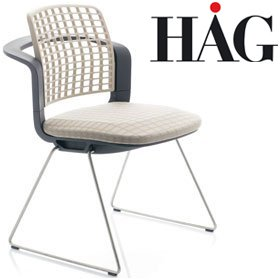 HAG Sideways Stacking Chair 9730 £379 - Office Chairs