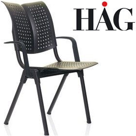 HAG Conventio Wing Chair 9811 With Arms £197 - Office Chairs