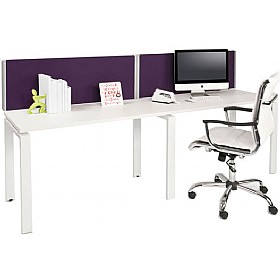 Layton Rectangular Desktop Screens £0 - Office Screens
