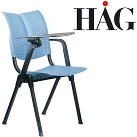 HAG Conventio Wing Chair 9811 With Writing Tablet £201 - Office Chairs