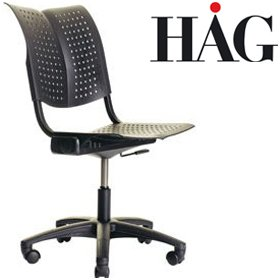 HAG Conventio Wing Swivel Chair 9812 £169 - Office Chairs
