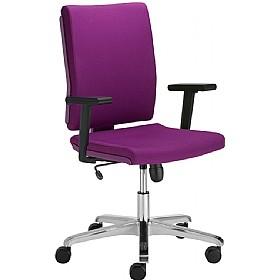 purple office chair uk. chiro comfort colourful fabric office