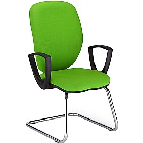 Jump Cantilever Visitor Chair £150 - Office Chairs