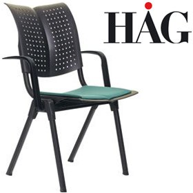 HAG Conventio Wing Chair 9821 With Arms £256 - Office Chairs