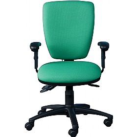 24 Hour Posture Square Back Chair £231 - Office Chairs