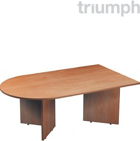 Triumph Everyday Boardroom Modular D-End Tables £135 - Meeting Room Furniture