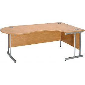 Modus Contract Cantilever Managerial Ergonomic Desk £334 - Office Desks