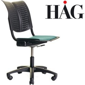 HAG Conventio Wing Swivel Chair 9822 £193 - Office Chairs