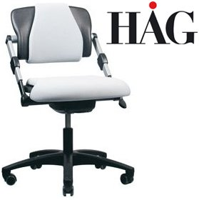 HAG H03 330 Petite Chair £356 - Office Chairs