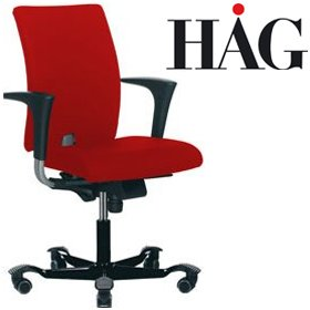 HAG H04 4100 Petite Chair With Arms £512 - Office Chairs
