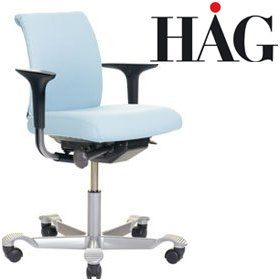 HAG H05 5100 Compact Chair With Arms £519 - Office Chairs