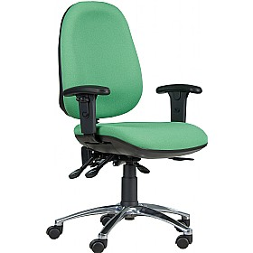 24 Hour Contact Deluxe Posture Chair £155 - Office Chairs