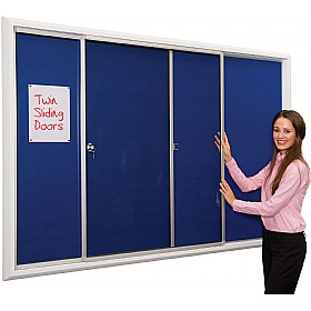 Ultralon Safety Locking Noticeboards £283 - Display/Presentation