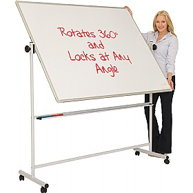 Ultralon Mobile Non-Magnetic Swivel Teaching Whiteboards £97 - Display/Presentation