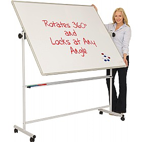 Ultralon Mobile Magnetic Swivel Teaching Whiteboards £155 - Display/Presentation