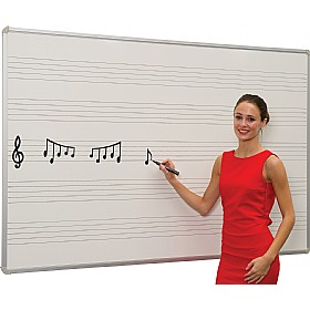 Ultralon Music Marked Whiteboards £70 - Display/Presentation