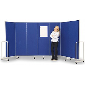 insta wall acoustic room dividers 383 display presentation