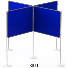 Xib-it Large 3D Pole and Panel Exhibition Kits £391 - Display/Presentation