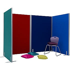 Space Dividers 30mm Thick Partitions £140 - Display/Presentation