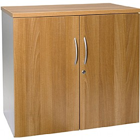 NEXT DAY Flare Desk High Cupboards £127 - Next Day Office Furniture