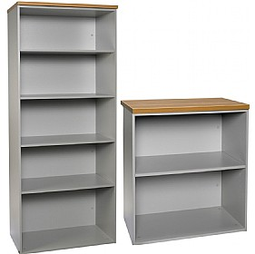 NEXT DAY Flare Bookcases £88 - Next Day Office Furniture
