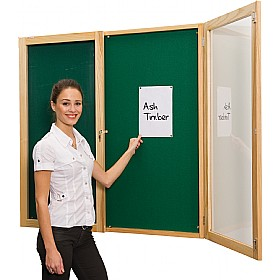Ultralon ECO Friendly Decorative Wood Frame Tamperproof Noticeboards £204 - Display/Presentation