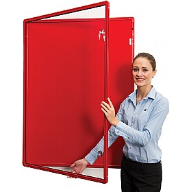 Ultralon FlameShield Colour Co-ordinated Tamperproof Aluminium Frame Noticeboards £113 - Display/Presentation