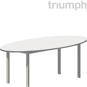 Triumph Metrix Oval Meeting Tables £327 - Meeting Room Furniture