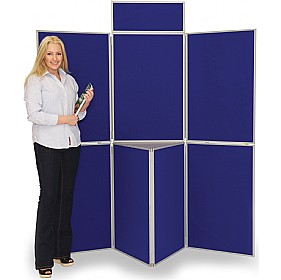 7 Panel Fold-Up Display Screen £251 - Display/Presentation