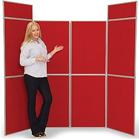 8 Panel Fold-Up Display Screen £251 - Display/Presentation