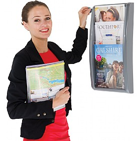 A4 Three Pocket Wall Mounted Leaflet Dispenser £40 - Display/Presentation