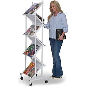 Mobile Z-Rack Leaflet Dispenser £402 - Display/Presentation