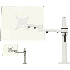 Stream Plus Dual Beam Monitor Arm With Through Desk Fixing £92 - Office Furnishings