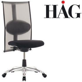 HAG H09 Inspiration Meeting Chair 9272 Black £717 - Office Chairs