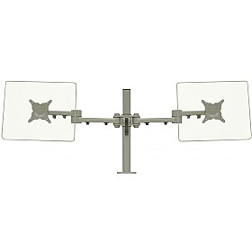 Stream Plus Dual Monitor Mount With C Clamp Fixing £0 - Office Furnishings
