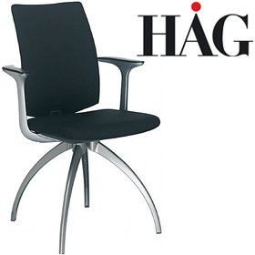 HAG H05 5370 Communication Chair With Arms £313 - Office Chairs