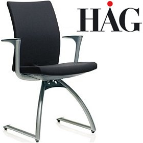 HAG H04 4470 Meeting Chair With Arms £366 - Office Chairs