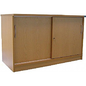 Accord Desk High Sliding Door Cupboards £325 - Office Desks