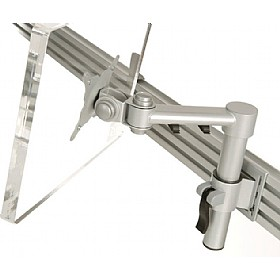 Stream Plus Single Beam Monitor Arm With Tool Rail Fixing £0 - Office Furnishings