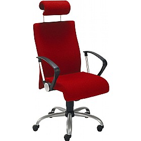 Neo II Executive Operator Chair With Headrest £238 - Office Chairs