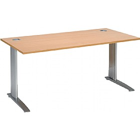 Linear Cantilever Rectangular Desks £201 - Office Desks