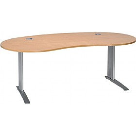 Linear Cantilever Kidney Shaped Desks £292 - Office Desks