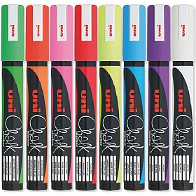 Bullet Tip Assorted Chalk Markers (Pack of 8) £30 - Display/Presentation