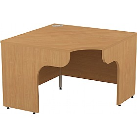 Alpha Plus Panel End Corner Desk £233 - Office Desks