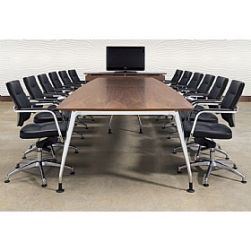 DNA Rectangular Wooden Table £0 - Meeting Room Furniture
