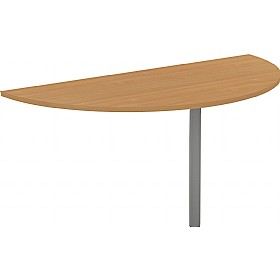 Alpha Plus Semi-Circular Desk Extension £171 - Office Desks
