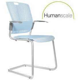 Humanscale Cinto Sled Base Stacking Chair £113 - Office Chairs